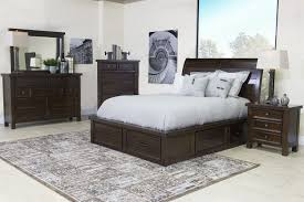 the sonoma california king storage bed mor furniture for less
