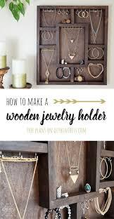 best 25 wooden jewelry display ideas on pinterest jewelry
