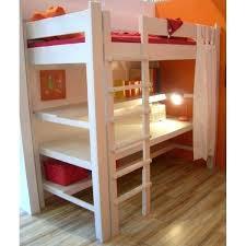 bureau pin lit mezzanine avec bureau lit gigogne avec bureau lit
