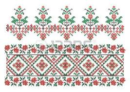 vector ornaments ukrainian traditional embroidery royalty free