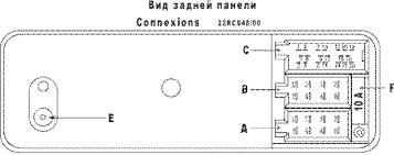 philips car radio stereo audio wiring diagram autoradio connector
