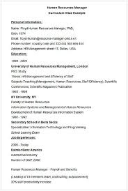 hr manager resume human resources manager cv exle hr manager resume sle this