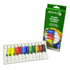 acrylic paint set of 12 s