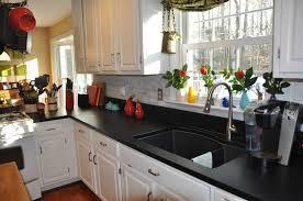 Kitchen Design Richmond Va by Soapstone Kitchen With Black Sink And White Carrara Marble Stacked