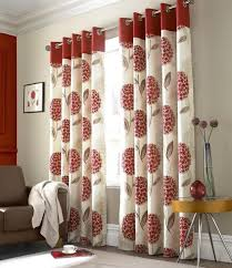 Silver And Red Curtains Patterned Red Curtains Best Curtains Design 2016