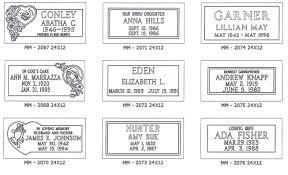 grave marker designs granite grave markers