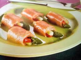 cuisiner le saumon recette de rouleaux de saumon farci