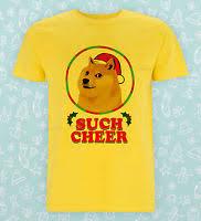Doge Meme Christmas - funny popular doge wow such face much meme dog reddit summer tees