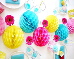 Background Decoration For Birthday Party At Home Sunbeauty 15pcs 2 U0027 U0027 5cm Tissue Paper Honeycomb Balls Party Event