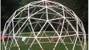 build a pvc 20 foot functional geodesic dome make