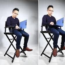 Makeup Artist Light Makeup Artist Directors Chair Aluminum Frame Light Weight And