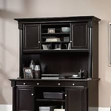 sauder desk with hutch sauder 417700 avenue eight home office furniture computer desk hutch