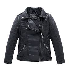ljyh children s collar motorcycle leather coat boys