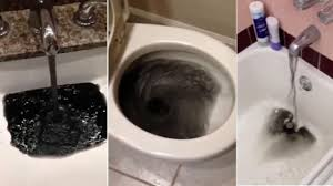 Black Water Coming Out Of Faucets In Gardena Neighborhood Abc7 Com