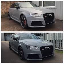 nardo grey rs3 qstuning rs3 tuning and modifications official audi rs3 owners