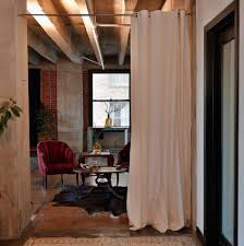 Wall Room Divider Interior Room Divider Curtain To Make Separate Your Living Space