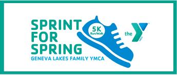 sprint for 5k run walk geneva lakes family ymca