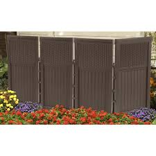4 panel resin wicker suncast fsw4423 outdoor screen reviews