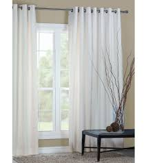 White Darkening Curtains Entrancing Decorating Ideas Using White Curtains And