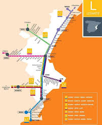 Valencia Spain Map by Trains In Spain Costa Blanca Train Stations U2013 The Sat And Pc Guy