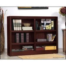Cherry Bookcase With Glass Doors Cherry Bookcase With Glass Doors 2 Shelf Wood