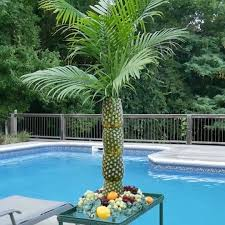 how to make a pineapple palm tree for a serving tray pineapple