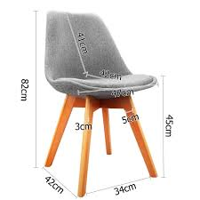 retro replica eames eiffel chairs x 2 visitor chairs chairs