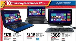 when do target black friday doorbusters start walmart black friday 2012 ad leaks laptop desktop tablet pc
