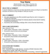 Resume For A Marketing Job by 28 How To Make A Resume For A Job Interview How To Write A