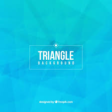 triangle pattern freepik blue triangle background vector free download