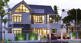 4bhk House 4 Bhk 2200 Sq Ft Sloped Roof House Kerala Home Design Bloglovin U0027