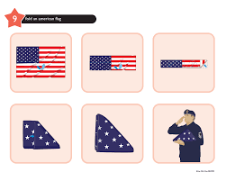 How To Fold Us Flag How To Spin A Dreidel And Make A Lattice Top Pie Album On Imgur