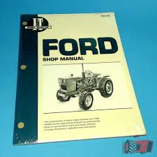 fo44 workshop manual ford 1300 1700 1900 tractor u0026 1210 1310 1510