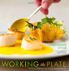 book plates dishes working the plate the of food presentation christopher