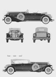 duesenberg model j 1932 blueprint download free blueprint for 3d