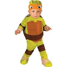 Childrens Halloween Costumes Teenage Mutant Ninja Turtle Michelangelo Toddler Halloween Costume