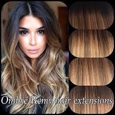 balayage hair extensions pre bonded human hair extensions ombre balayage 18 20 1gram ebay