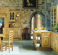 french country kitchen furniture kitchen ancient kitchen with stone walls and oil paintings also