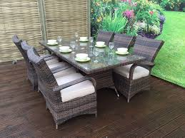 8 Seat Patio Dining Set - 8 seat dining sets u2013 signature weave
