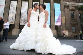 in wedding dress men in wedding dresses abc news australian broadcasting