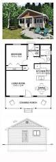 Floor Plans For Narrow Lots by Narrow Lot House Plan 99971 Total Living Area 598 Sq Ft 1