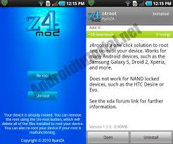 unroot apk z4root 1 3 the one click rooting app for all android