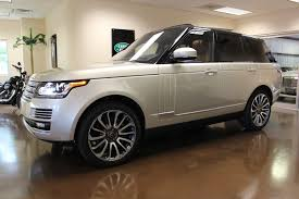 range rover autobiography used 2014 land rover range rover stock p3080 ultra luxury car
