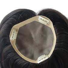 thin hair pull through wigltes natural parting black human hair pull through wiglet filler