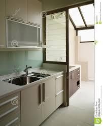 modern wet kitchen design interior design kitchen stock photo image of wood wall 2635658