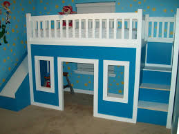 Kids Bunk Beds With Desk And Stairs Kids Bunk Beds With Stairs Home Design Ideas