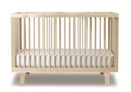 Oeuf Crib Mattress Oeuf Sparrow Crib Fawn Forest