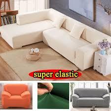housse canap elastique coin élastique housse de canapé tissu stretch coussins universel