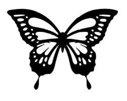 5 8 8 3 butterfly stencil and template design 2 a5 from