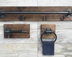 Rustic Bathroom Fixtures - pipe bath fixtures etsy